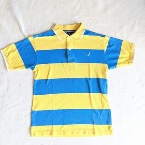 Nautica boys striped polo size 10-12